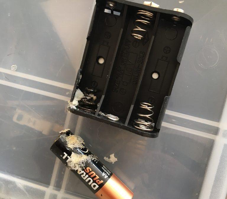 Battery Leak!